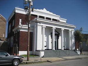 Congregation Beth Israel (New Orleans) - Menorah Institute building on Euterpe St.