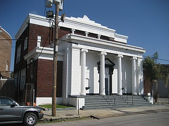 Congregation Beth Israel (New Orleans) - Menorah Institute building on Euterpe St.