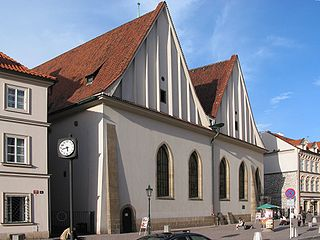 Bethlehem Chapel building in the Old Town of Prague