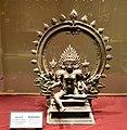 Bhadrakali, bronze, 14th century, Government Museum, Chennai (2) (37405413316).jpg