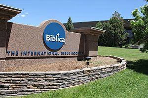 Biblica - Biblica headquarters in Colorado Springs.