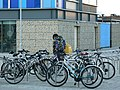 Bicycle Parking, Cambridge Leisure - geograph.org.uk - 631624.jpg