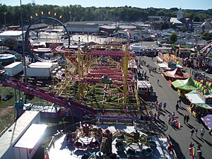The Eastern States Exposition - The Big E in West Springfield, Massachusetts in 2007