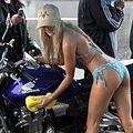 Bikini Bikewash fundraiser for Auckland Hospital Spinal Unit 05.jpg
