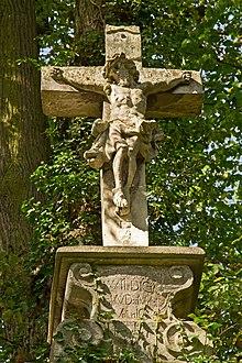 Bildstock Wegkreuz in Drosendorf Stadt - Detail.jpg