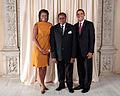 Bingu wa Mutharika with Obamas.jpg