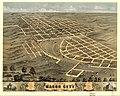 Bird's eye view of Macon City, Macon County, Missouri 1869. LOC 73693483.jpg