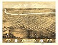 Bird's eye view of the city of Lawrence, Kansas 1869. LOC 73693409.jpg