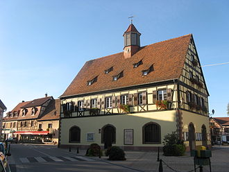 Bischwiller - La Laub, former town hall, now a museum