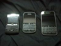 BlackBerry 8820, BlackBerry Bold 9900 and BlackBerry Classic.jpg