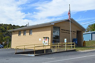 Blacksville, West Virginia - The community's post office