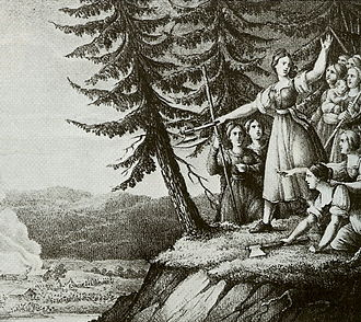 Blenda - The Girls of Småland by Hugo Hamilton (1830)