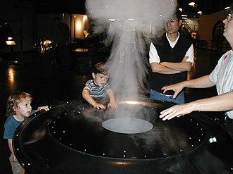 Ned Kahn - Smoke billows at the Exploratorium