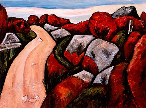 Blueberry Highway, Dogtown by Marsden Hartley, 1931, High Museum of Art