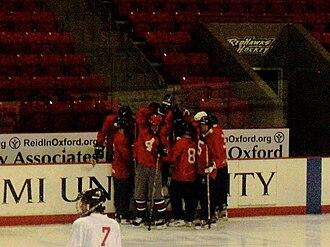 Goggin Ice Center - Intramural hockey
