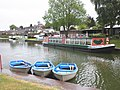 Boats for hire, Tiverton canal basin - geograph.org.uk - 1887080.jpg