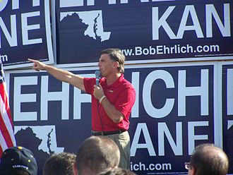 Bob Ehrlich - Ehrlich campaigning for governor in 2010