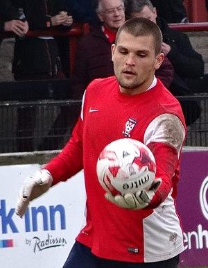 Bobby Olejnik - Olejnik training with York City in 2015