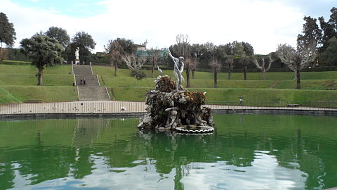Boboli Gardens Neptune fountain