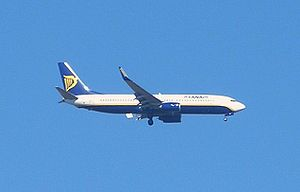 B 737 of Ryanair