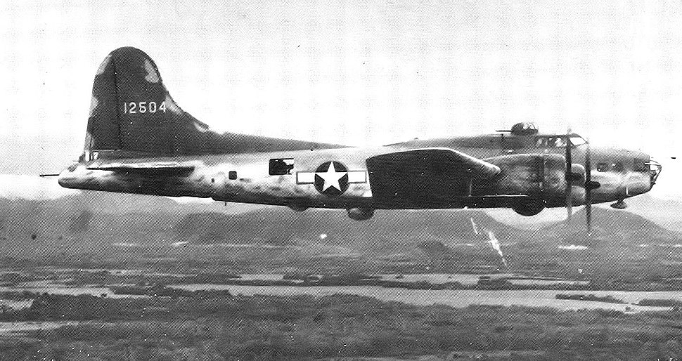 Boeing B-17E Fortress 41-2504 Panama 1942
