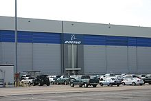 Boeing's Wichita plant in 2010