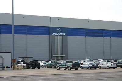 Boeing plant in Wichita (2010). Boeing was once the largest employer in Wichita (as per a 2005 analysis), and aviation remains the city's largest industry. - Wichita, Kansas