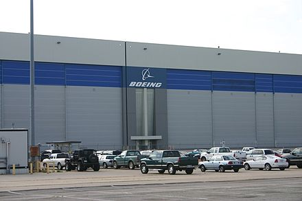 In 2012, Boeing announced it would close its pictured facility in Wichita, Kansas. Boeing Wichita.jpg