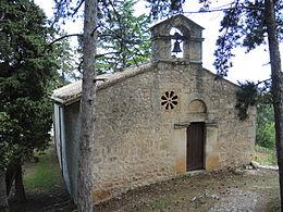 Esterno oratorio san pellegrino - bominaco - abruzzo