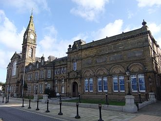 Sefton Council - Image: Bootle Town Hall (4)