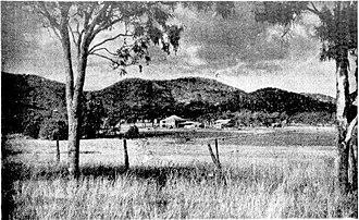 Bouldercombe - Bouldercombe and the Dee Range, 1954