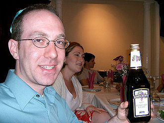 Manischewitz - Bottle of Manischewitz