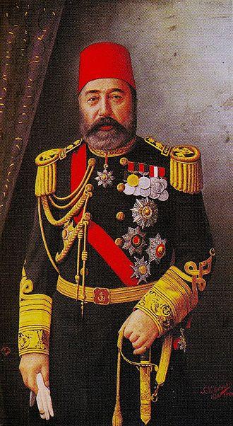Ottoman frigate Ertuğrul - Head of the navy, Bozcaadalı Hasan Hüsnü Pasha