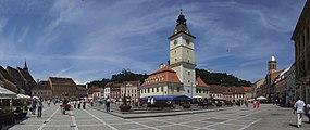 Braşov (Kronstadt, Brassó) - market square.jpg