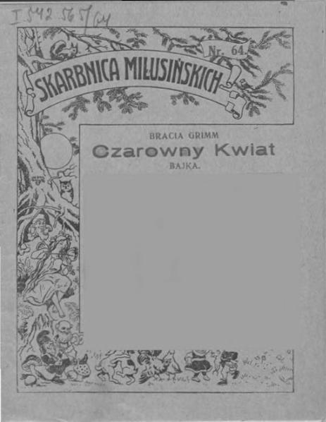 File:Bracia Grimm - Czarowny Kwiat.djvu