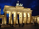 Бранденбургские ворота Nachts.JPG