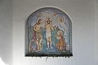 Breitbrunn am Ammersee (Herrsching) St. Johannes der Täufer Wandmalerei 894.jpg