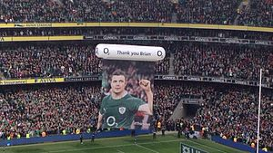 Brian O'Driscoll - Brian O'Driscoll's Final Home Test match