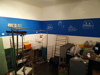 Bricolage - A maker space with potential bricolage material