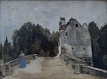 Bridge and Mill near Mantes Camille Corot.jpg