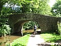 Bridge over Monmouthshire ^ Brecon canal - geograph.org.uk - 1995354.jpg