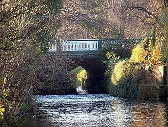 Retford - Bridgegate in Retford, showing the Idle Bridge