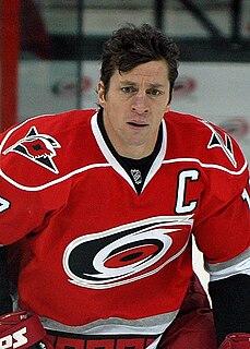 Rod BrindAmour Canadian ice hockey player