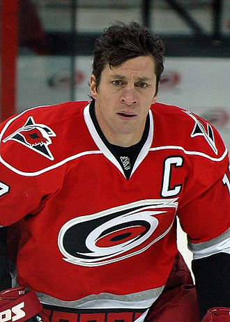 Rod Brind'Amour - Brind'Amour with the Hurricanes in 2009