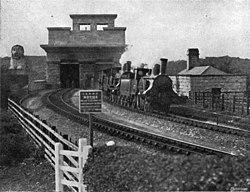 Britannia Bridgen rautatieasema