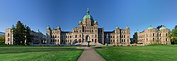 British Columbia Legislative Buildings in Victoria