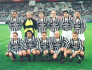 Brittany national football team - Image: Brittany team v Cameroon (21 May 1998)