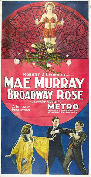 Broadway Rose (film) - Film poster