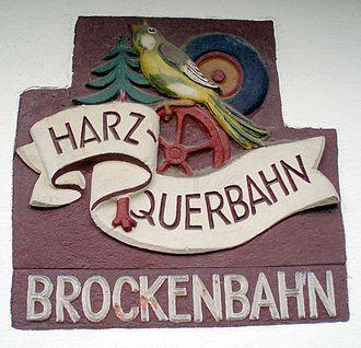 Nordhausen-Wernigerode Railway Company - Emblem of the Harzquerbahn