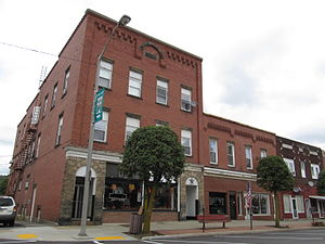 Brockway, Pennsylvania - downtown Brockway
